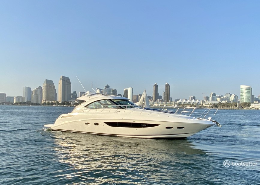 Rent a Sea Ray Boats express cruiser in San Diego, CA near me