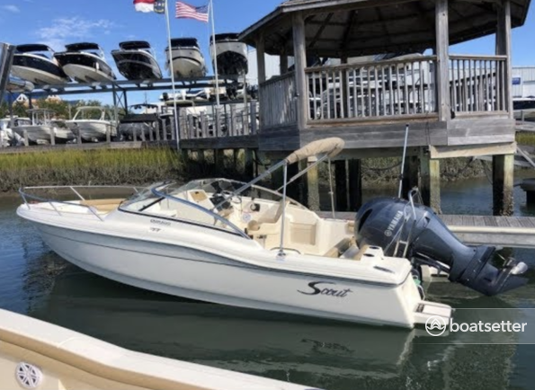 Rent a SCOUT BOATS dual console in Fort Myers Beach, FL near me