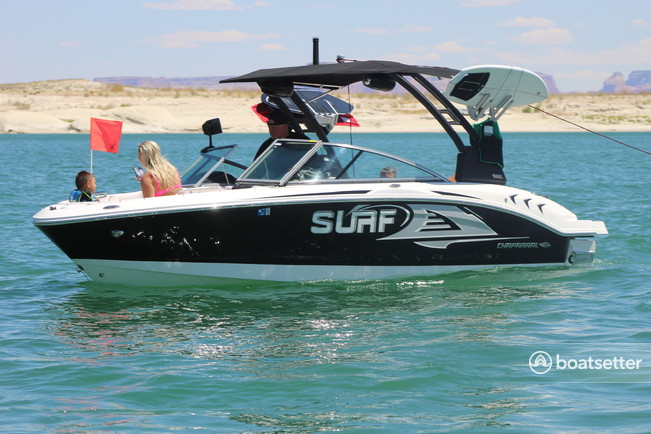 Rent a Chaparral Boats ski and wakeboard in Page, AZ near me