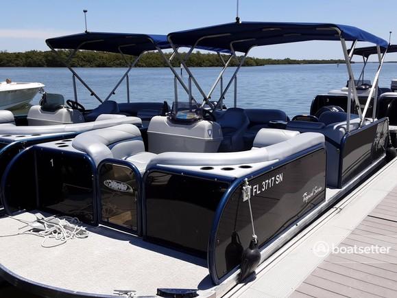Rent a Aloha pontoon in Fort Myers Beach, FL near me