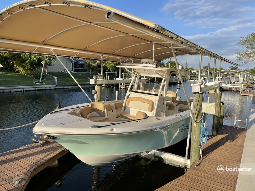 Rent a Key West Boats center console in Cape Coral, FL near me