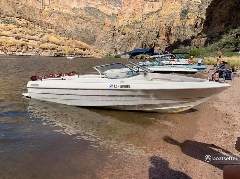 Rent a Bayliner bow rider in Page, AZ near me