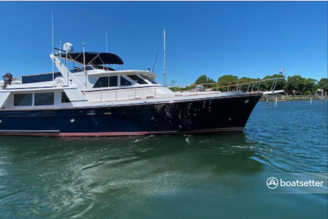 Rent a Custom motor yacht in Newport, RI near me