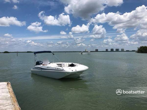 Rent a Hurricane Boats deck boat in Fort Myers, FL near me
