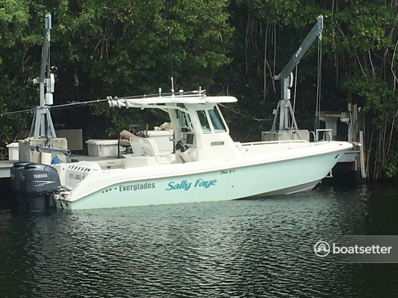 Rent a Everglades by Dougherty center console in Key Largo, FL near me