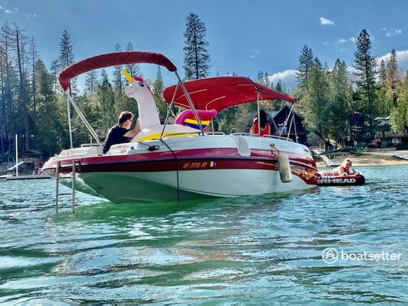 Rent a Crownline Boats deck boat in Bass Lake, CA near me
