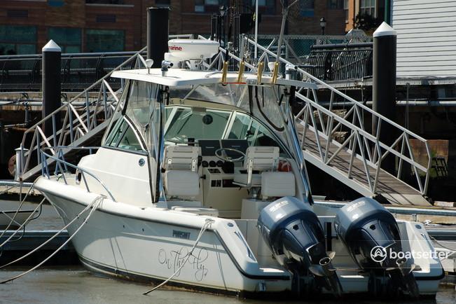 Rent a Pursuit cruiser in Hoboken, NJ near me