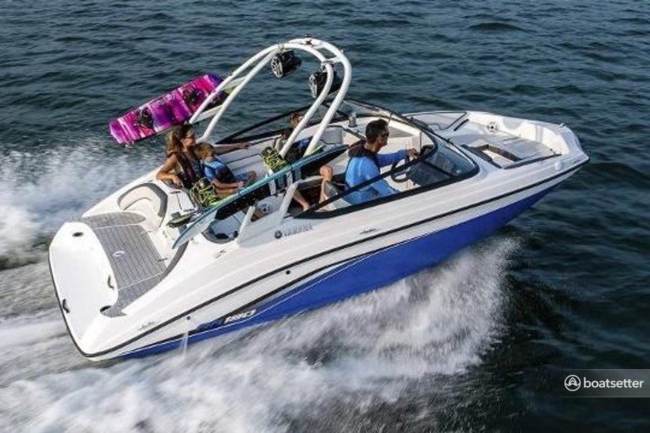Rent a Yamaha jet boat in San Diego, CA near me