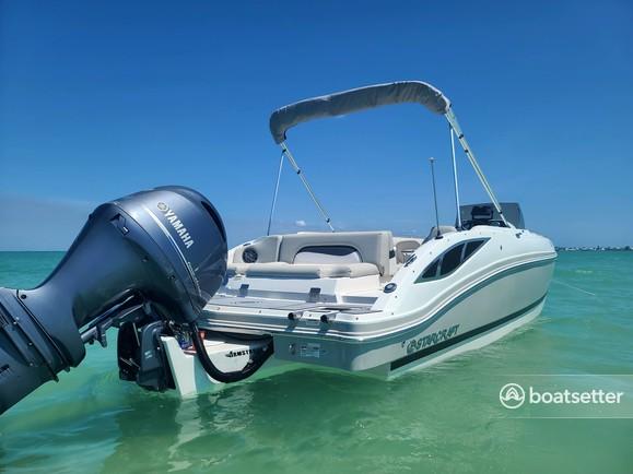 Rent a Starcraft Marine bow rider in Holmes Beach, FL near me