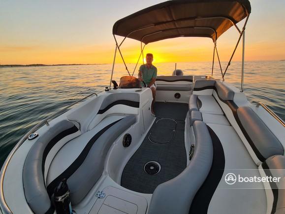 Rent a Starcraft Marine deck boat in Holmes Beach, FL near me
