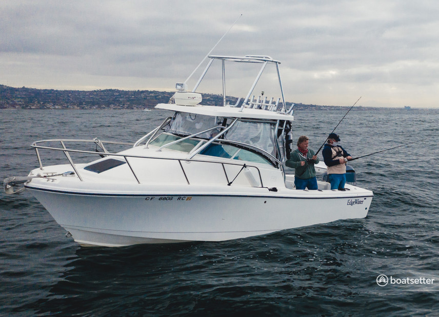 Rent a Edgewater Powerboats dual console in San Diego, CA near me