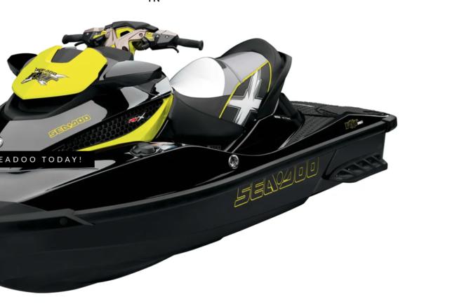 Rent a SEA-DOO jet ski / personal water craft in Nashville, TN near me