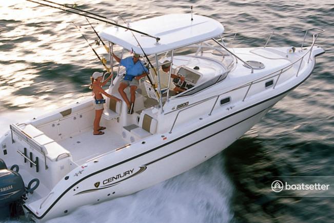 Rent a Century Boats walkaround in Miami, FL near me
