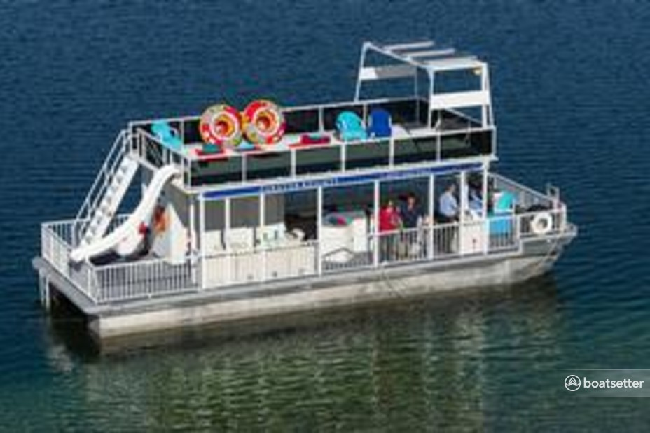 Rent a Party pontoon in La Grange, CA near me