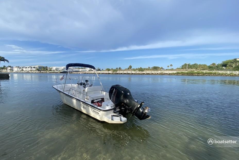 Rent a Boston Whaler center console in Deerfield Beach, FL near me