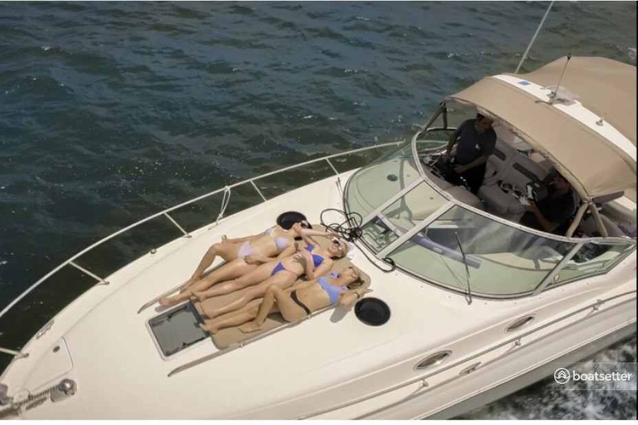 Rent a Sea Ray Boats express cruiser in Pompano Beach, FL near me