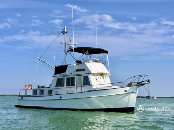 Rent a Grand Banks trawler in Montauk, NY near me