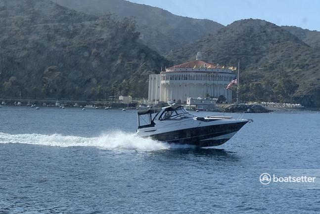 Rent a Larson Boats express cruiser in Huntington Beach, CA near me