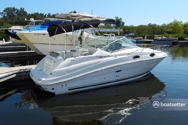 Rent a Sea Ray Boats cruiser in Temple Hills, MD near me