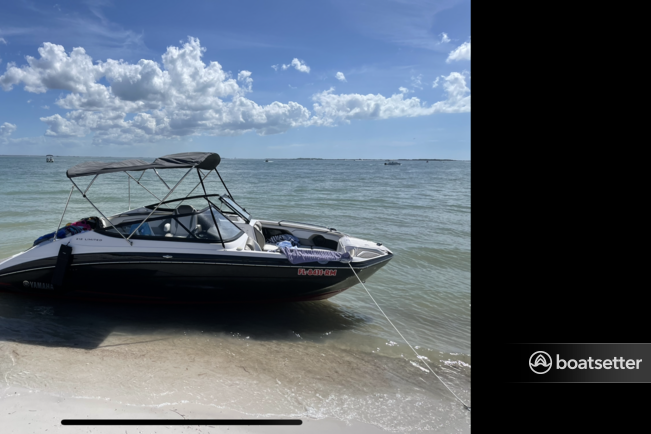 Rent a YAMAHA jet boat in Tarpon Springs, FL near me