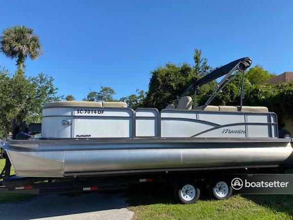 Rent a Manitou Pontoon pontoon in Daytona Beach, FL near me