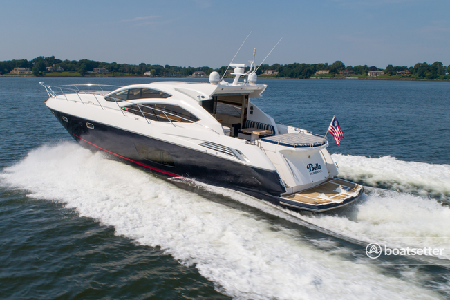 Rent a Sunseeker motor yacht in Sag Harbor, NY near me