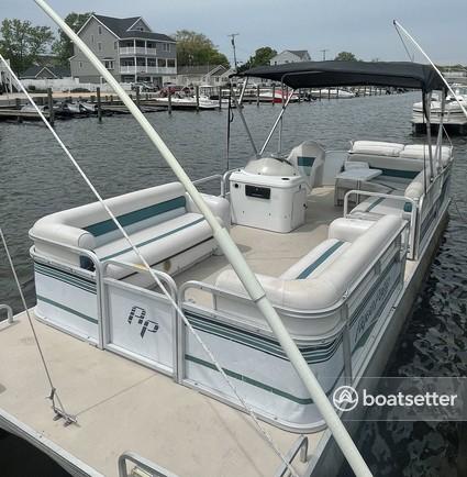 Rent a Godfrey Marine pontoon in Toms River, NJ near me