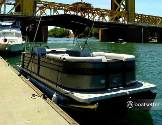 Rent a Crest  pontoon in Sacramento, CA near me