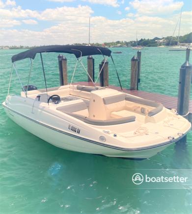 Rent a BAYLINER deck boat in Sarasota, FL near me