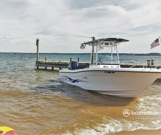Rent a Cape Craft Fishing Boats center console in Houston, TX near me