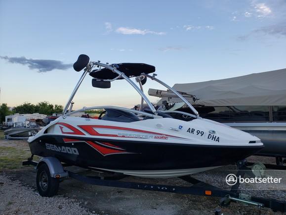 Rent a Sea-Doo jet boat in Rockwall, TX near me