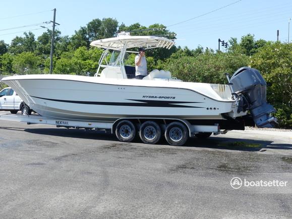 Rent a Hydrasports Boats center console in Boca Raton, FL near me
