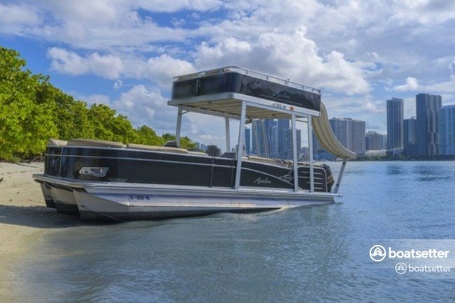 Rent a Avalon Pontoons pontoon in Key Biscayne, FL near me