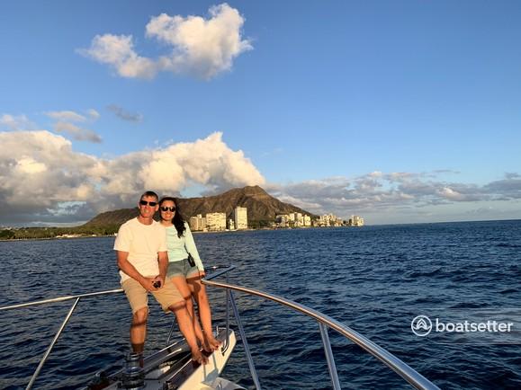 Rent a Hatteras Yachts motor yacht in Honolulu, HI near me