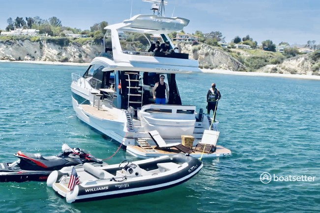 Rent a Galeon motor yacht in Marina del Rey, CA near me