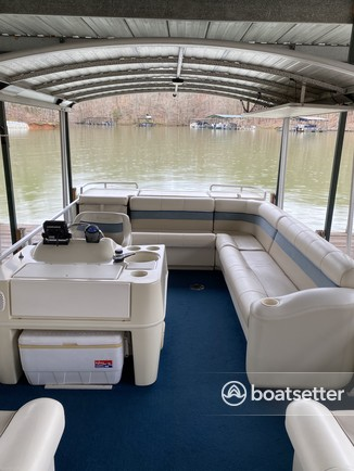 Rent a Harris FloteBote pontoon in Anderson, SC near me