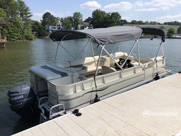 Rent a Odyssey Pontoons pontoon in Cornelius, NC near me