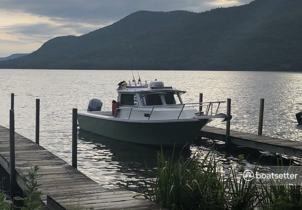 Rent a Parker Marine pilothouse in Lake George, NY near me