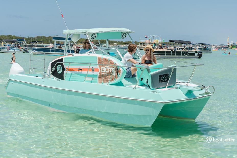 Rent a World Cat Boats catamaran in Destin, FL near me