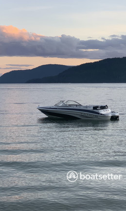 Rent a Tahoe by Tracker Marine bow rider in Coeur d'Alene, ID near me