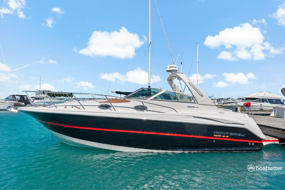 Rent a Monterey Boats cruiser in Chicago, IL near me