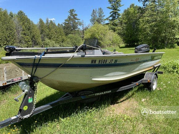 Rent a TRACKER BY TRACKER MARINE aluminum fishing in Cloquet, MN near me