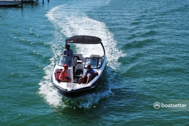 Rent a YAMAHA bow rider in St. Pete Beach, FL near me