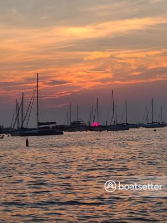 Rent a Godfrey Marine pontoon in Atlantic Highlands, NJ near me