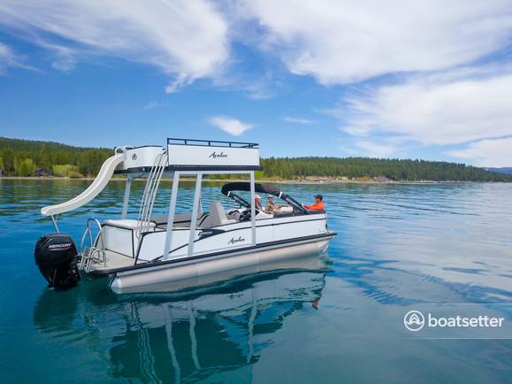 Rent a Avalon pontoon in Tahoe City, CA near me