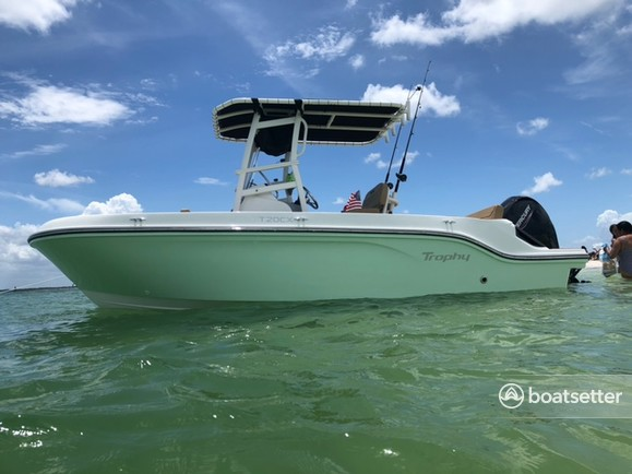 Rent a Bayliner center console in Holiday, FL near me