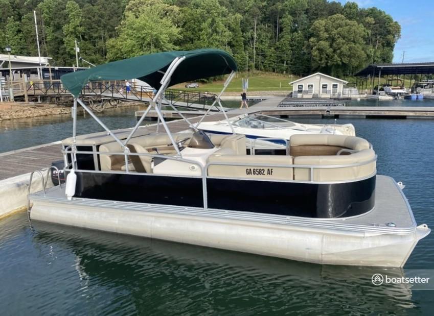 Rent a Manitou Pontoon pontoon in Buford, GA near me
