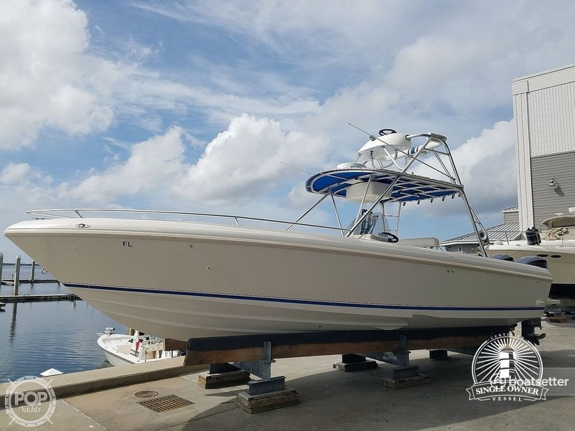 Rent a Intrepid Powerboats center console in Fort Myers Beach, FL near me