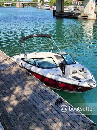 Rent a Monterey Boats bow rider in Grand Island, NY near me