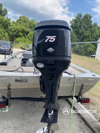 Rent a Tracker by Tracker Marine aluminum fishing in Longwood, FL near me